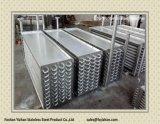Tuyaux en acier inoxydable pour la boîte de climatisation