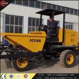 Fcy30 4X4 Hydraulic Mini Dumper、Hydraulic Dumper