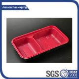 Container Tary van de Doos van de Maaltijd van de Doos van het Snelle Voedsel van twee Kleur de Beschikbare Plastic