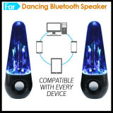 Dancing Water Music Fountain Bluetooth Haut-parleur MP3 double avec un son puissant