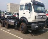 콩고 시장 6*4 380HP Beiben 트랙터 트럭