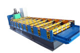 Roulis trapézoïdal de profil de panneau de mur 840 en métal formant la machine