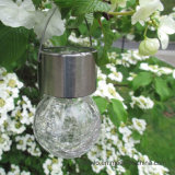 Luz colgante de la bola solar de Crakle para la decoración al aire libre del jardín (RS113)