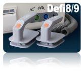 Defi8 Meditechの手動除細動器は標準ECGケーブル(5つの鉛)と来る