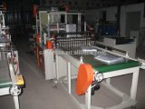 Quatre lignes sac plat double couche Making Machine