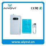 Cargador de emergencia portátil Banco de energía elegante con una función de Bluetooth 13000mAh