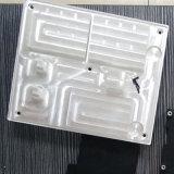 Anodizado ráfaga de la arena de fundición de precisión de mecanizado CNC de aluminio del disipador de calor