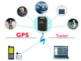 Realtime GPS Car Tracker Mini Monitor e alarme anti-roubo