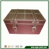 O séptimo do tratamento especial da caixa de madeira da pintura retro