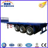 remorque de conteneur de lit plat du conteneur de transport de 40FT Cimc