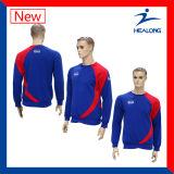 遅のHealongの高品質の完全な染料の昇華平野Hoodie