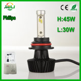 Philips 45 W.P. 86 9004/9007 di faro dell'automobile di H/L LED