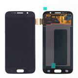 Samsung 파란 G9200를 위한 Pantalla De Samsung S6 Azul LCD+Touch
