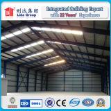 Conception légère préfabriquée de bâtiment d'entrepôt d'atelier de structure métallique