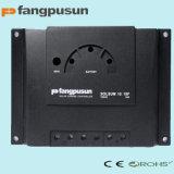 Voyant de la rue Fangpusun 12V/24V Remote les contrôleurs de charge solaire hybride de renseignement 6A, 8A, 10A AVEC CE RoHS, garantie 2 ans