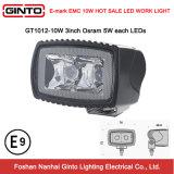 IP68 het LEIDENE 3inch Licht van het Werk voor de Verlichting van de Veiligheid van de Vorkheftruck (GT1012-10W)
