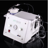 산소 제트기 온천장 아름다움 장비, 물 분출 청소를 위한 얼굴 껍질 기계