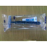 Máquina de embalagem horizontal semi-automática de sabão de alta qualidade Máquina de embalagem de escova de dente de pente
