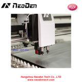 Picareta de SMT e máquina pequenas do lugar, cabeças com visão, 44 alimentadores de Neoden3V 2 para a produção do diodo emissor de luz