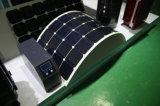 módulo Bendable Foldable elástico brandamente flexível do picovolt do painel solar de 50W ETFE Sunpower