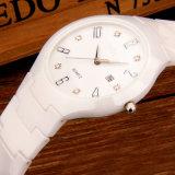 Водонепроницаемый белого керамического дамы часы