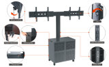 """Video Conference Stand Dual Screen 30-60 """"Lockable Cabinet (VRS 2000A)"""