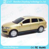 Azionamento dell'istantaneo del USB di figura dell'automobile di Audi SUV dell'oro del metallo (ZYF1729)