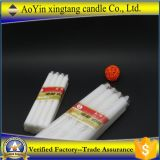 Aoyin Factory Supply 25g Bougies d'église blanches / Bougies blanches