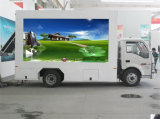 Suprimento Profissional Isuzu Mobile LED Displayadvertisement Truck with Lifting Screen