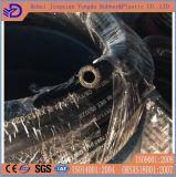 Ligne d'essence tressée à haute pression de fil d'acier boyau hydraulique de liquides