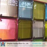 6.38-13.52mm de color claro o vidrio laminado de seguridad para edificio de arquitectura