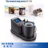Caneca pneumática de alta qualidade da sublimação Máquina da imprensa do calor