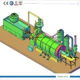 A pirólise plástico para máquina de óleo para o óleo combustível de plástico reciclado