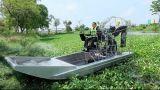 Airboat coques en aluminium/ aéronef de construction/l'exploration pétrolière bateau en aluminium