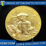 Monete 2017 del ricordo del metallo dell'oro di produzione del Manufactory