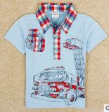 Usine de la vente directe de l'été 2014 Le nouveau commerce étranger Enfants unique d'origine de gros de vêtements enfants T-Shirt à manches courtes vêtements bébé garçon T-