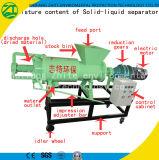 Separador líquido contínuo da extrusão do parafuso para a exploração agrícola de gado/estrume do porco/desperdício animal