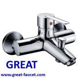 Robinet de baignoire de salle de bains mural de haute qualité