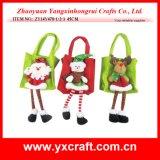 Decoração de Natal (ZY14Y137-1-2-3) Sacola grande de Natal