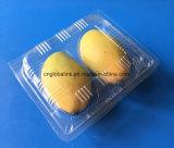 망고를 위한 애완 동물 처분할 수 있는 플라스틱 상자 망고 Packagings를 위한 포장 콘테이너 2개 피스 과일