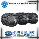 Pára-choque de borracha pneumático quente da venda CCS/BV/SGS com corrente e pneumático