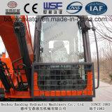 Excavatrices moyennes de machines de construction de Baoding avec la position 0.7m3