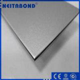 金属銀によってブラシをかけられるアルミニウム複合材料のパネル