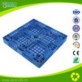De blauwe Pallet van de Dwarsdoorsnede van de Kleur enig-Zij Zware Plastic