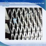 Engranzamento de fio expandido decorativo de alumínio das fachadas