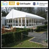 La marquesina de la boda al aire libre caso parte de la Pagoda de cristal transparente Gazebo tienda