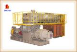 Máquina de fatura de tijolo da cinza de carvão