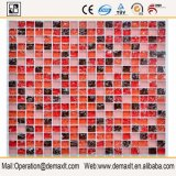 Verre cristal de couleur de mélange pour la tuile de mosaïque