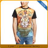 Modèle de T-shirt d'hommes d'usine de la Chine