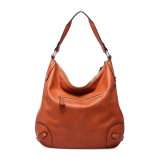 Bolsa de couro de ombro de bolsas de couro genuíno para coleções das mulheres